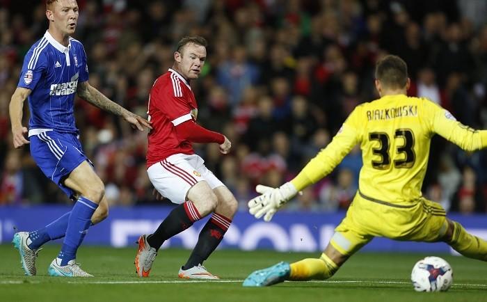 Wayne Rooney Manchester United Ipswich Town