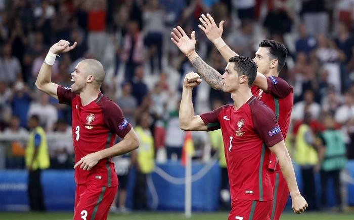 Pepe Jose Fonte Cristiano Ronaldo Portugal