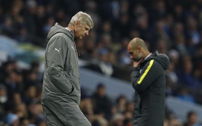 Arsene Wenger Arsenal Pep Guardiola Manchester City EPL
