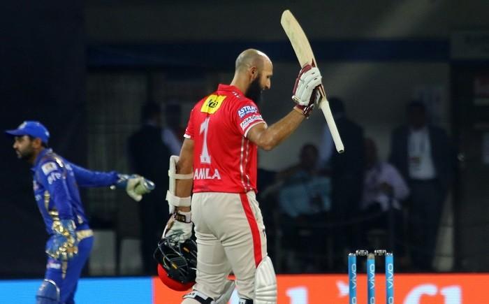 Hashim Amla, Kings XI Punjab, IPL 2017, Mumbai Indians, century