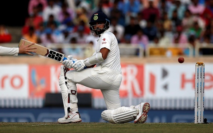 Ranchi Test: Day four in pictures