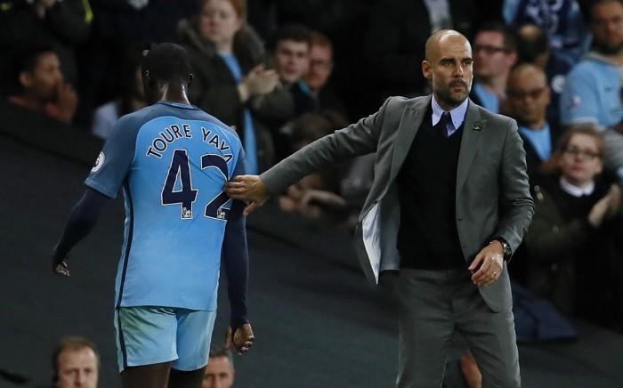 Yaya Toure, Pep Guardiola, Manchester City, Watford, EPL