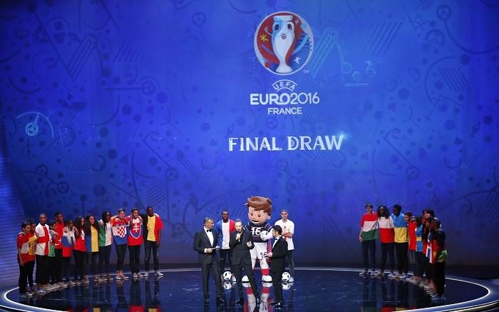 UEFA Euro 2016 Draw Gullit Lizarazu Guetta