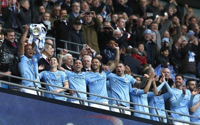 Manchester City Capital One Cup final