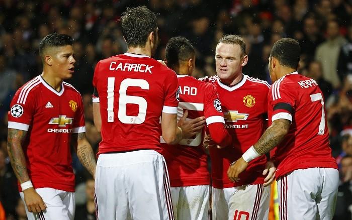 Manchester United Rooney Rojo