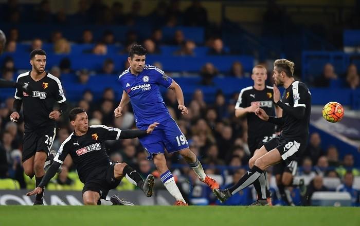 Diego Costa Behrami Watford Chelsea