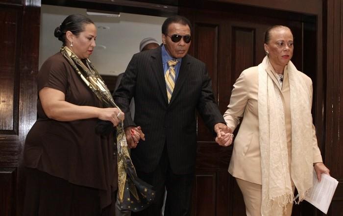 Muhammad Ali wife