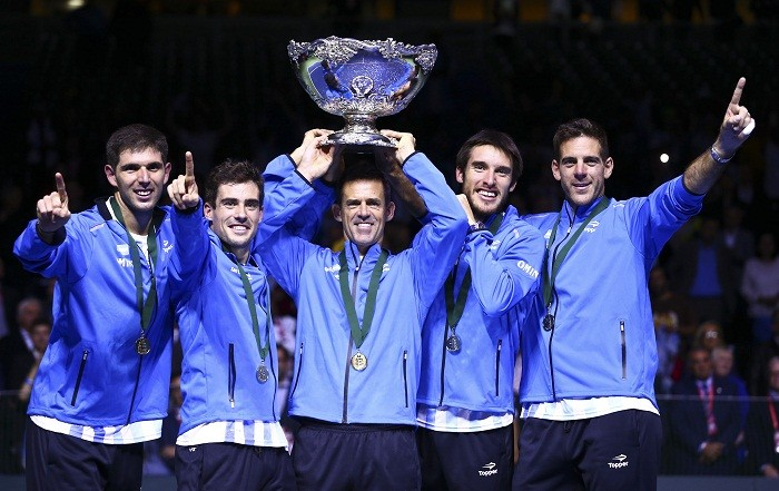 Argentina tennis, Davis Cup