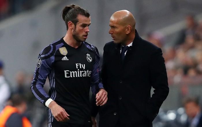 Zinedine Zidane, Gareth Bale, Real Madrid,