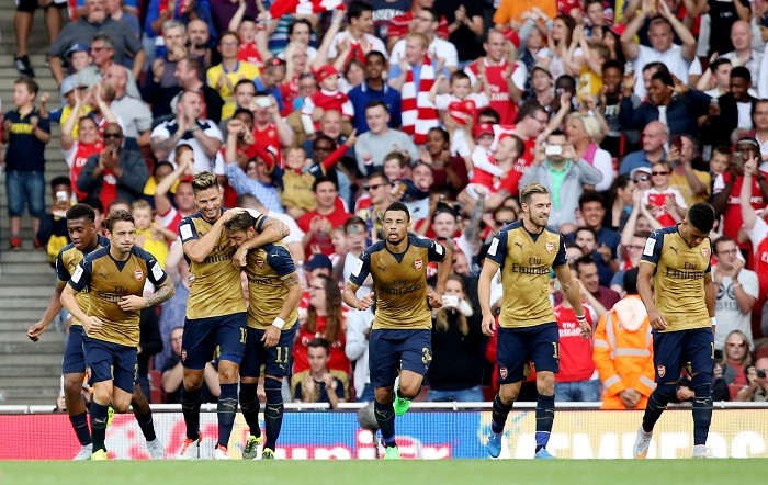 Arsenal Emirates Cup 2015