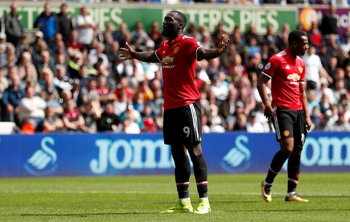 Romelu Lukaku, Manchester United, Swansea City