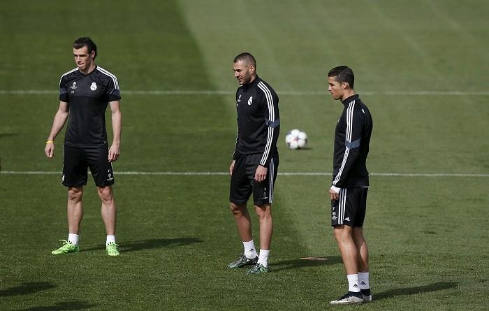 Gareth Bale Karim Benzema Cristiano Ronaldo Real Madrid