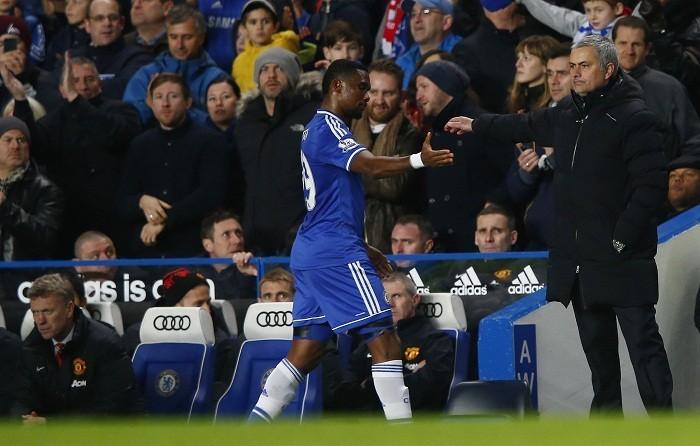 Eto'o Mourinho Chelsea