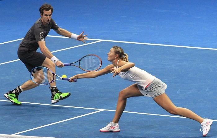 Andy Murray Maria Sharapova Manila Mavericks