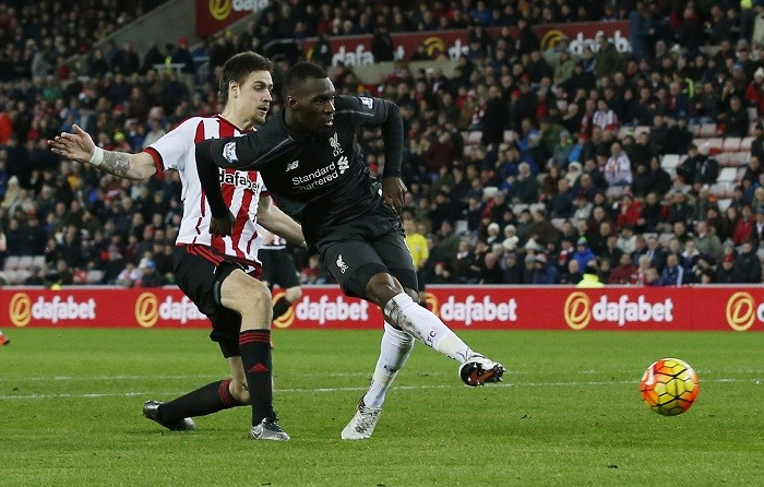 Christian Benteke Liverpool Sebastian Coates Sunderland