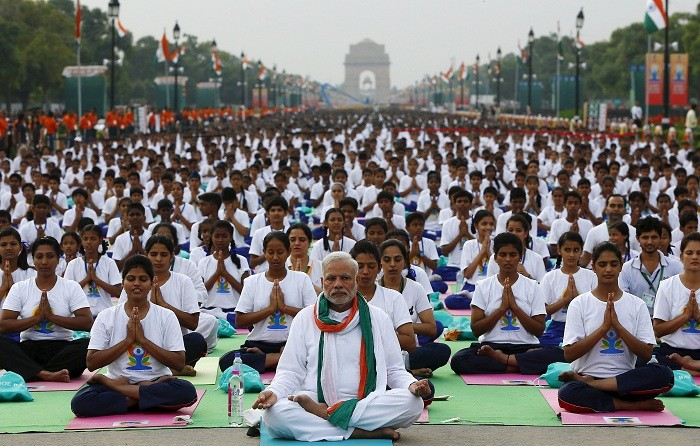 Yoga: 36,000 People Set Record in India on International