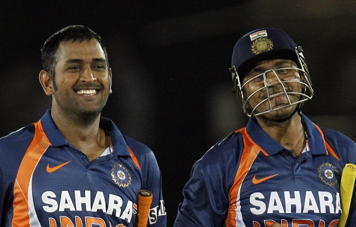 Sehwag Dhoni
