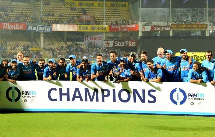 India New Zealand trophy
