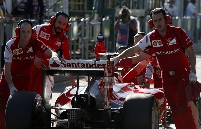 Ferrari Raikkonen F1