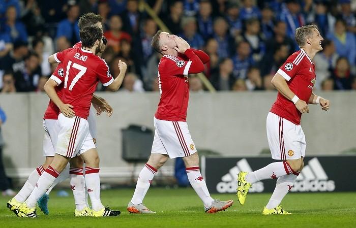 Manchester United Wayne Rooney Bastian Schweinsteiger
