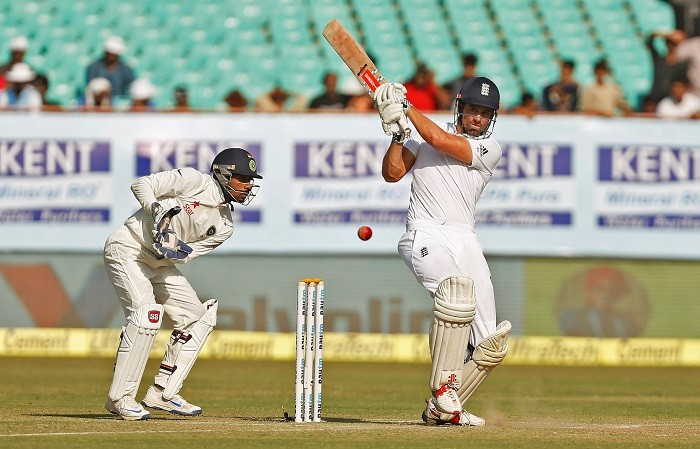 Alastair Cook England Wriddhiman Saha India
