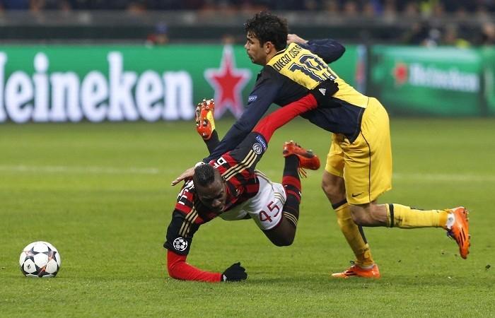 Costa Atletico Balotelli AC Milan