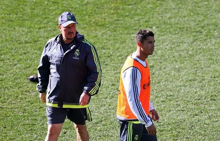 Rafa Benitez Cristiano Ronaldo Real Madrid