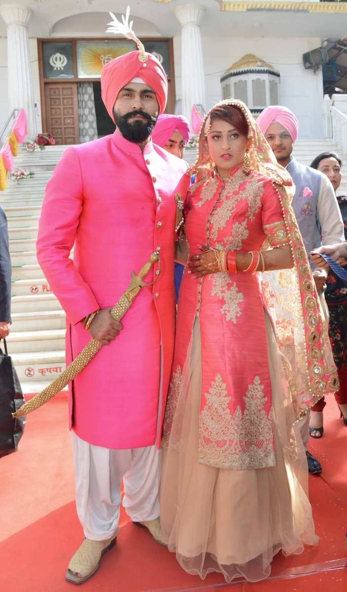 Aarya Babbar,Jasmine Puri,Aarya Babbar weds Jasmine Puri,Aarya Babbar marriage,Aarya Babbar wedding,Jasmine Puri marriage,Jasmine Puri wedding,Jasmine Puri wedding pics,Jasmine Puri wedding images,Jasmine Puri wedding photos,Jasmine Puri wedding pictures