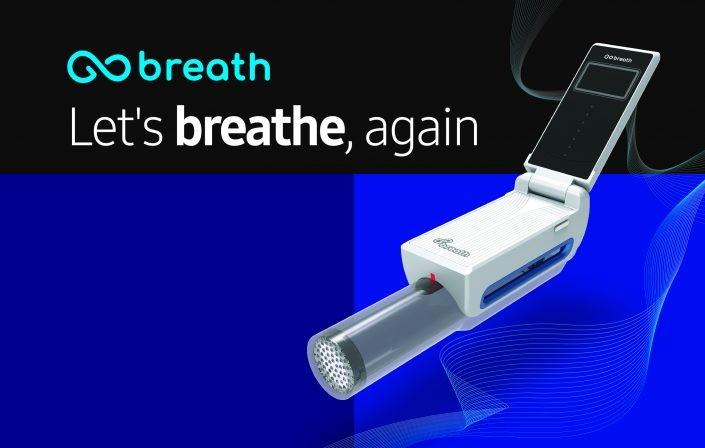 Samsung S-Ray speaker, GoBreath smart inspirometer ...