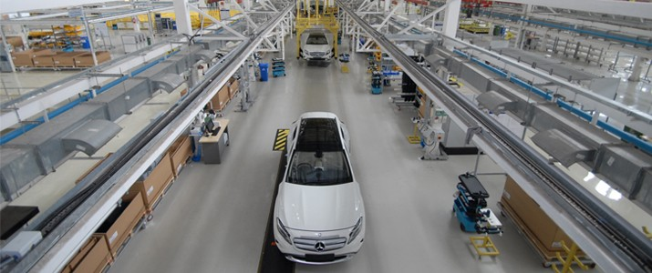 Mercedes Benz India GLA-Class Local Production Commences