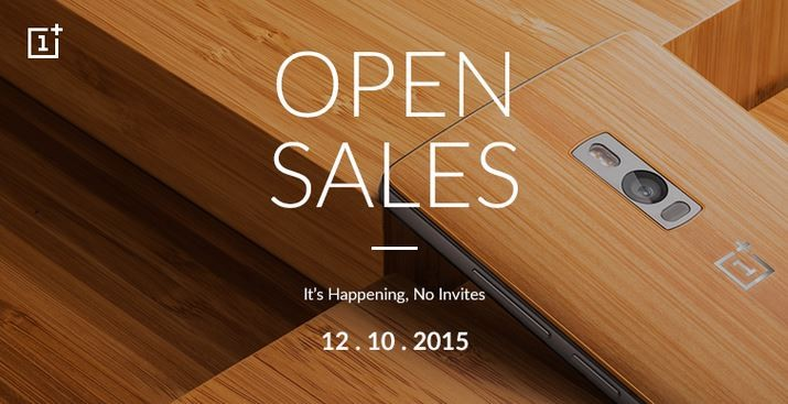 OnePlus 2 open sale to kick-off next week in India