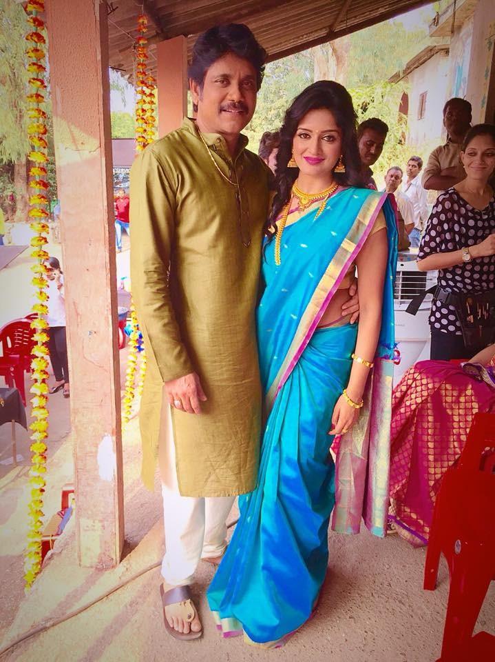Nagarjuna and Vimala Raman