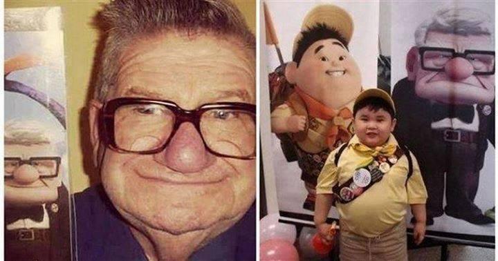 Ordinary People Who Look like celebs,people who look similar to cartoon figures,cartoon figures,cartoon look-alikes