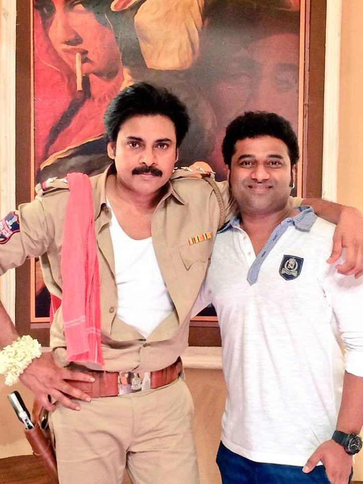 Pawan Kalyan,Devi Sri Prasad,Pawan Kalyan meets Devi Sri Prasad,actor Pawan Kalyan,Sardaar Gabbar Singh,Sardaar Gabbar Singh on the sets,Sardaar Gabbar Singh movie stills,Sardaar Gabbar Singh movie pics,Sardaar Gabbar Singh movie images,Sardaar Gabbar Sin