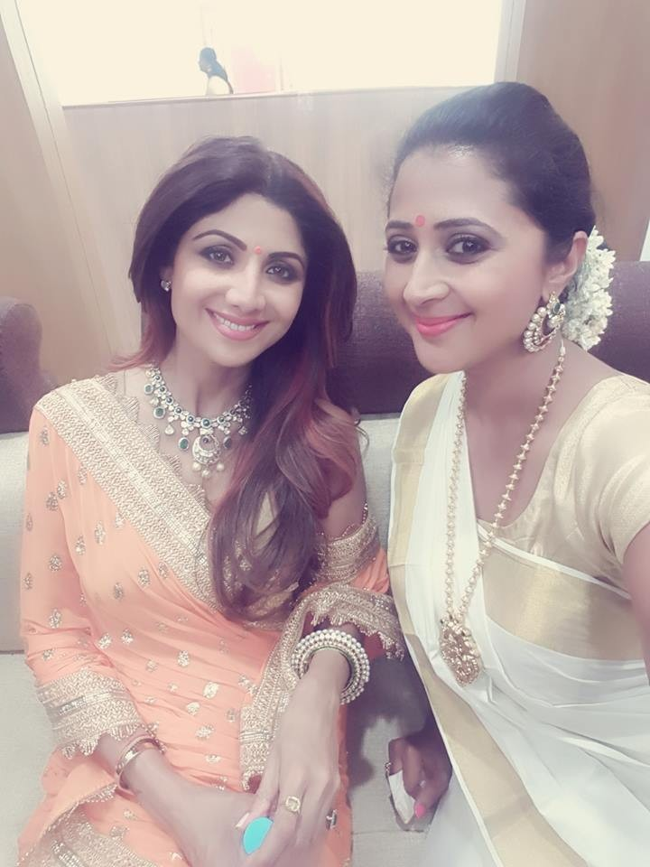 Kaniha,shilpa shetty,shilpa shetty in kerala,shilpa shetty kerala photos