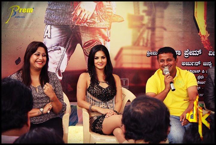 Rakshita, Sunny Leone & director Vijay Hampali