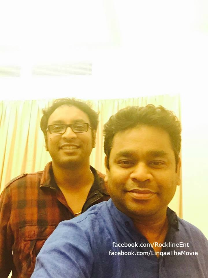 AR Rahman and Adrushta Deepak Pallikonda