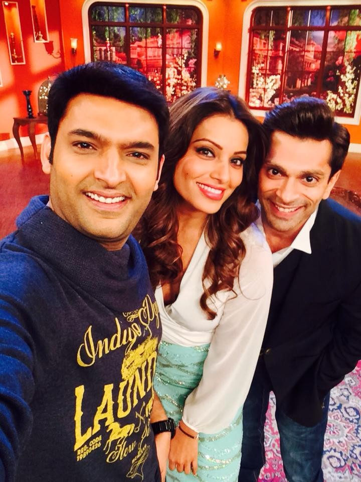 Bipasha Basu, Kapil Sharma and Karan Singh Grover