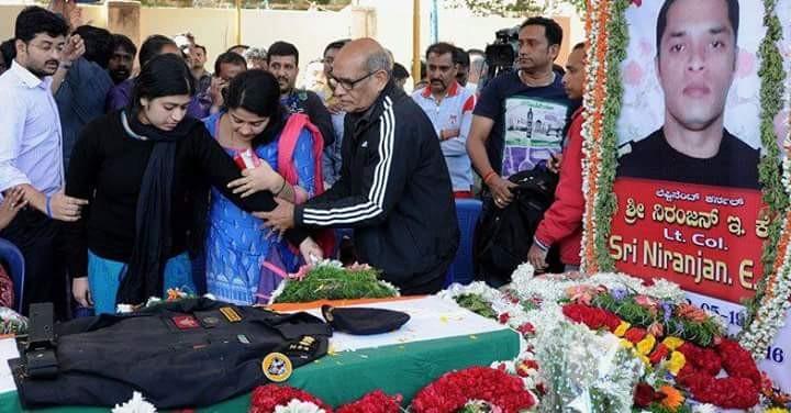 Niranjan Kumar's funeral