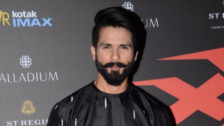 Shahid as Queen Padmavati's husband Ratan Singh