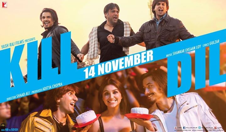 'Kill Dil': 10 Reasons Why You Should Watch Ranveer-Ali-Govinda-Parineeti Starrer Film