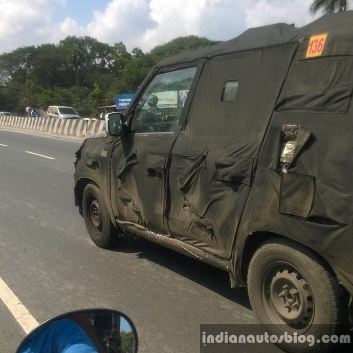 Mahindra New Gen Bolero Caught Testing