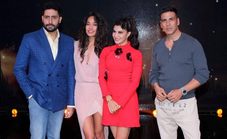 Abhishek Bachchan, Lisa Haydon, Jacqueline Fernandez, Akshay Kumar