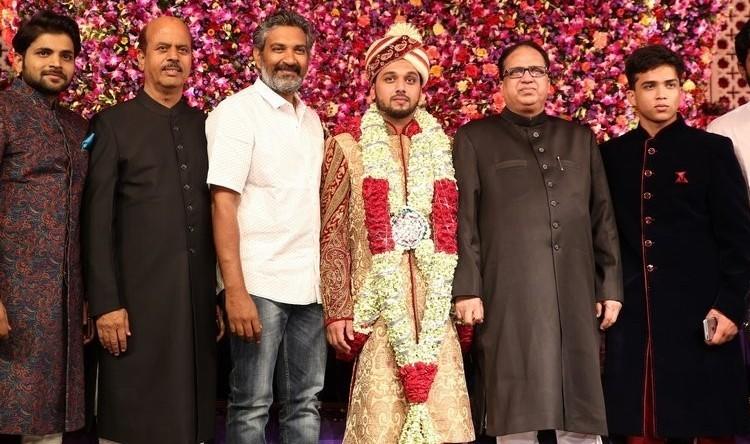 Saif Khalid Shareef Wedding,Saif Khalid Shareef,Akkineni Amala,Akhil,Venkatesh,Manchu Lakshmi,Allu Aravind,Manchu Manoj's family,Chota K Naidu