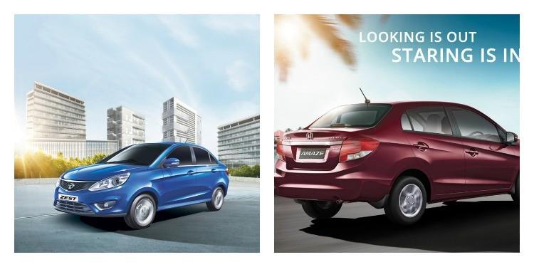 Tata Zest Vs Honda Amaze