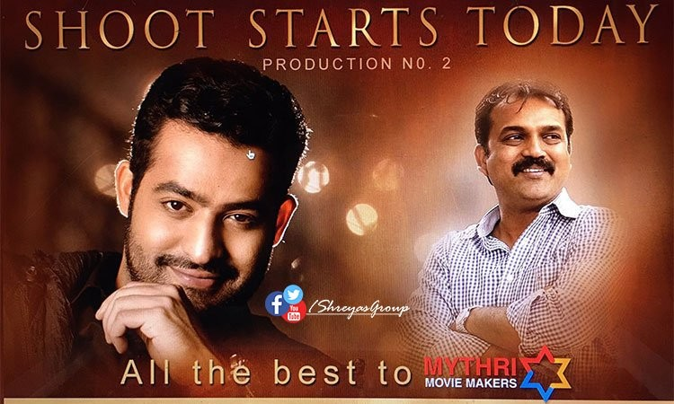 Junior NTR and Koratala Siva