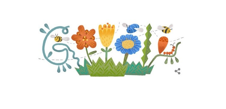 Google observes Navroz on his homepage