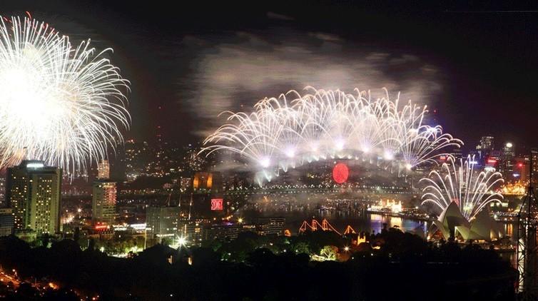 Dubai New Year's Eve Fireworks