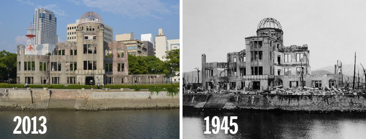 Hiroshima 70th Anniversary,Hiroshima,Hiroshima then and now,Fact Tank - Our Lives in Numbers August 4,2015 70 years after Hiroshima,Bombing of Hiroshima and Nagasaki,Hiroshima and Nagasaki