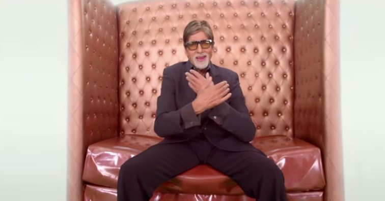 Amitabh Bachchan in 'Birju' Video Song